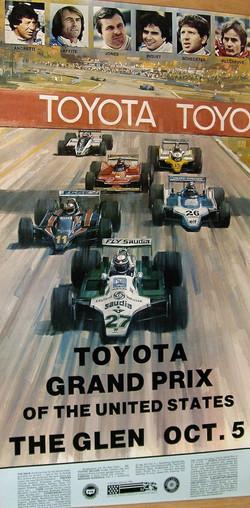 1980 Watkins Glen Poster