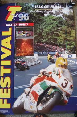 Original 1996 TT Poster-Joey Dunlop