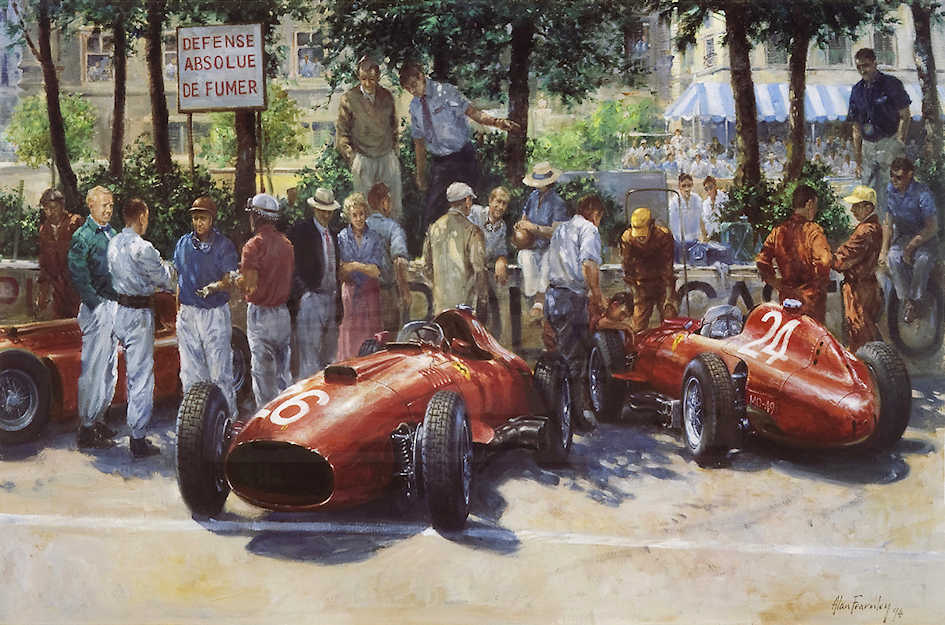 Practice Over- Alan Fearnley