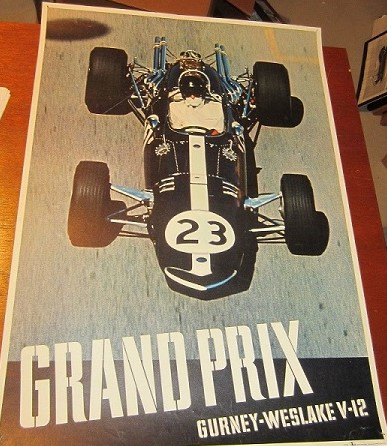 Dan Gurney Weslake V12 Poster
