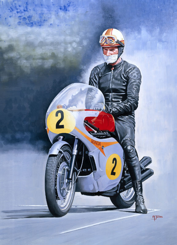Hailwood Alone With His Thoughts