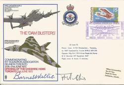 Dambusters FDC - Barnes Wallis Signed