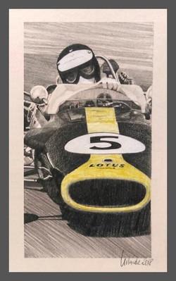 Jim Clark Lotus 49 1967