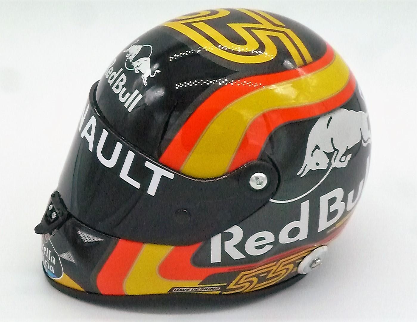 Carlos Sainz 2018 1:2 Scale Helmet
