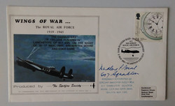 Dambuster Signed-Wings Of War FDC