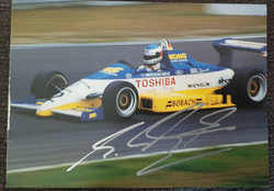 Schumacher Early Days Signed Card