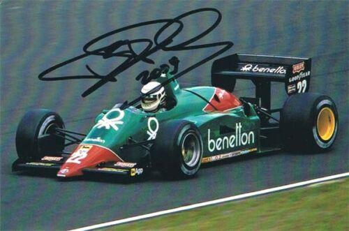Riccardo Patrese Signed Benetton