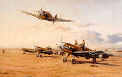 Hunters in the Desert-Robert Taylor