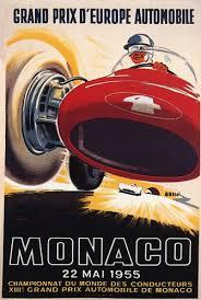 1955 Monaco poster
