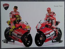 Rossi and Hayden-Ducati Team