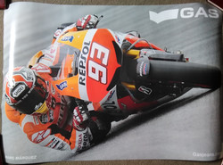 Marc Marquez Gas Poster
