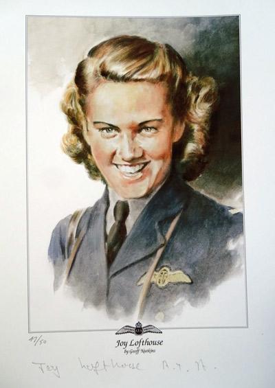 Joy Lofthouse ATA Signed Portrait