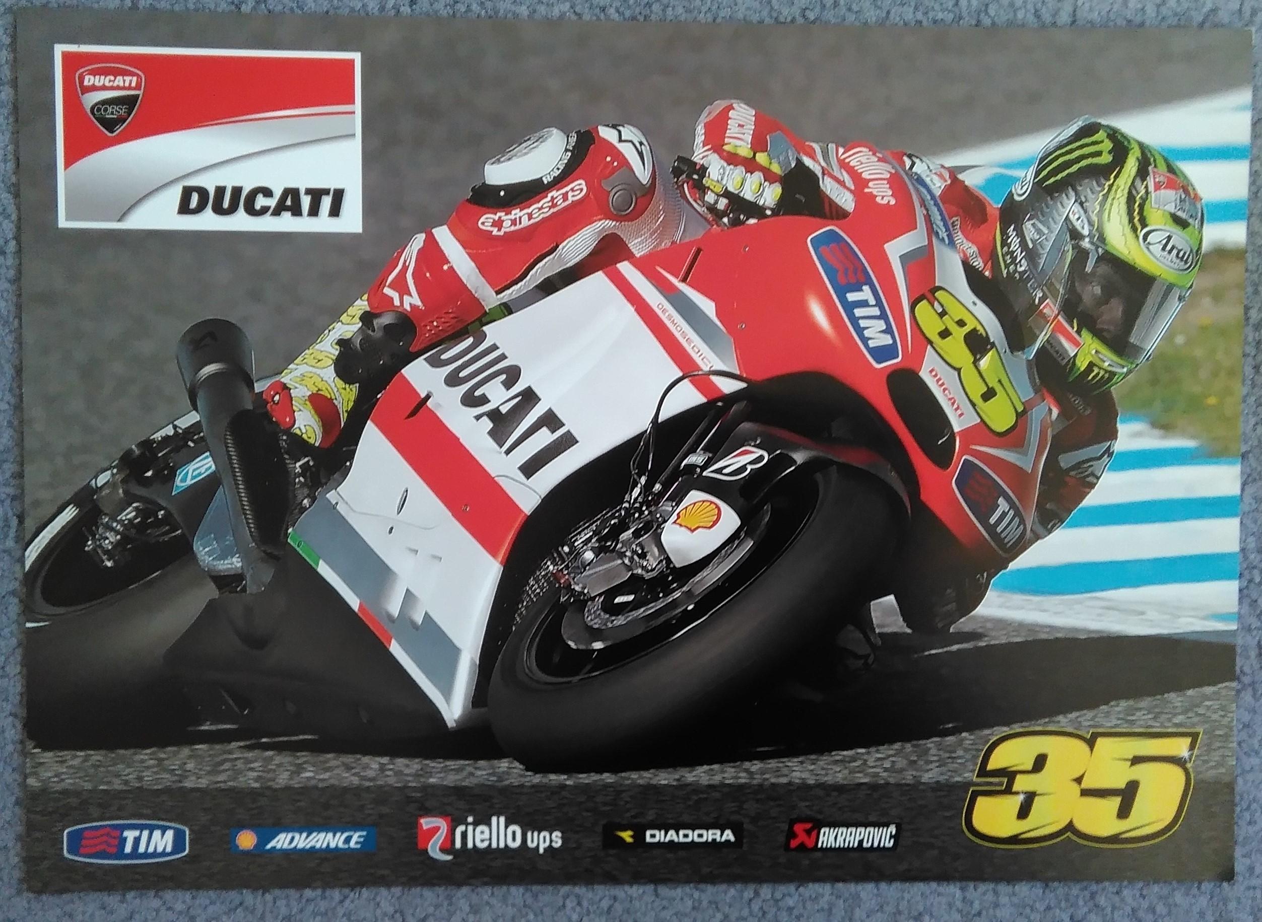 Cal Crutchlow-Ducati Moto GP