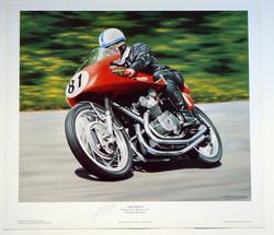 John Surtees 1954 TT Signed