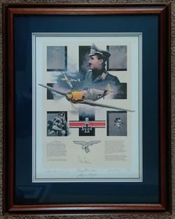 Adolf Galland Multi Signed by Nicolas Tr