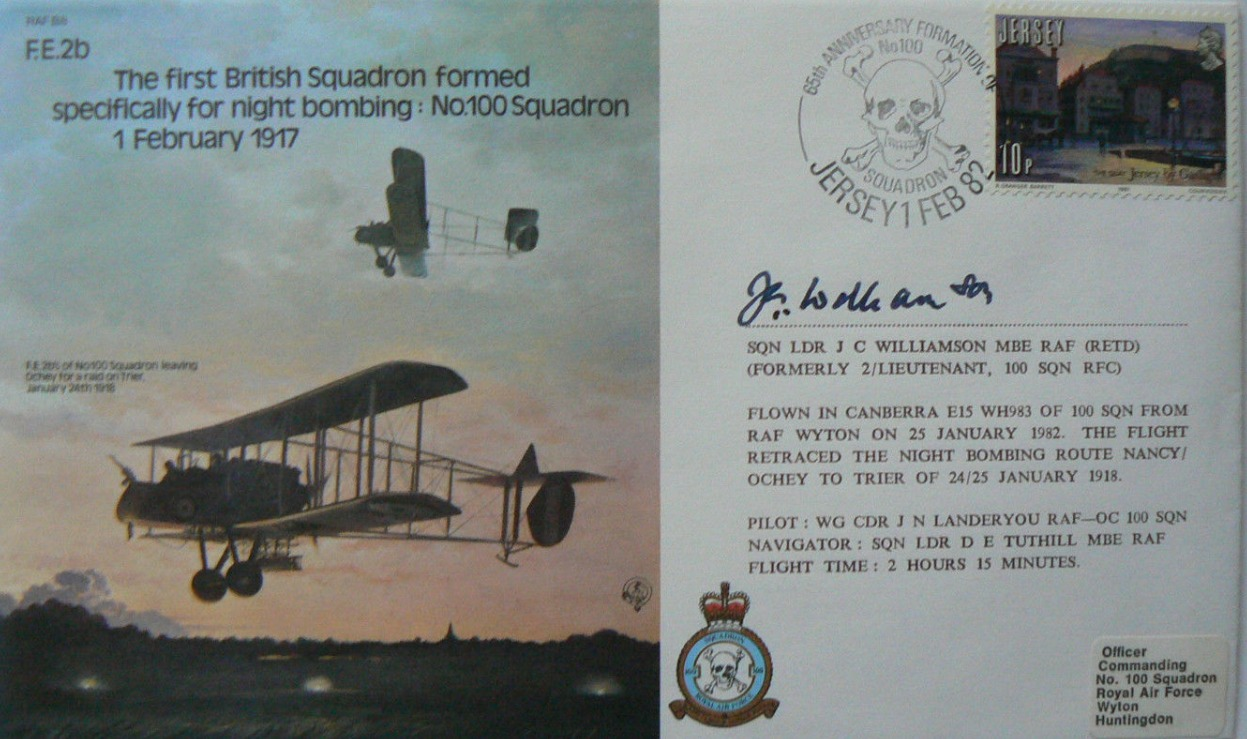 Williamson Signed FDC