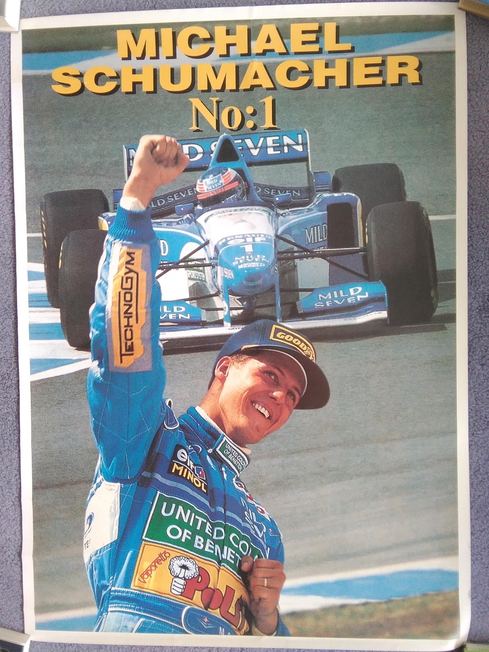 Michael Schumacher Benetton Profile Post