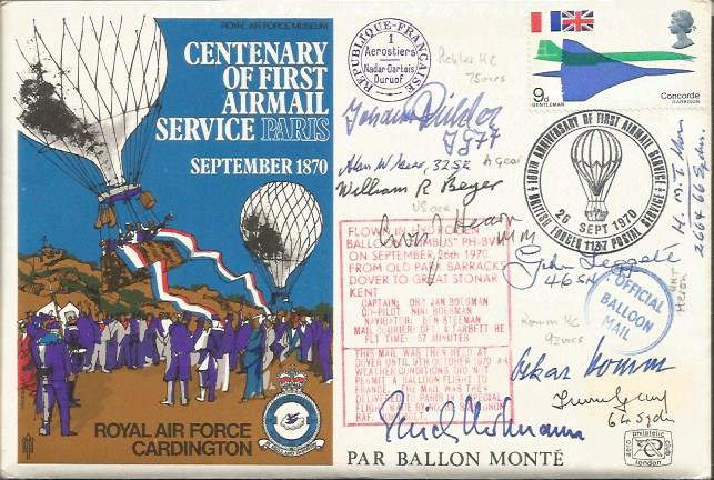 Multi German- Allied Signed FDC
