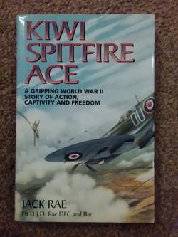 Kiwi Spitfire Ace-Jack Rae