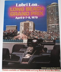 Long Beach 1979 Original Poster