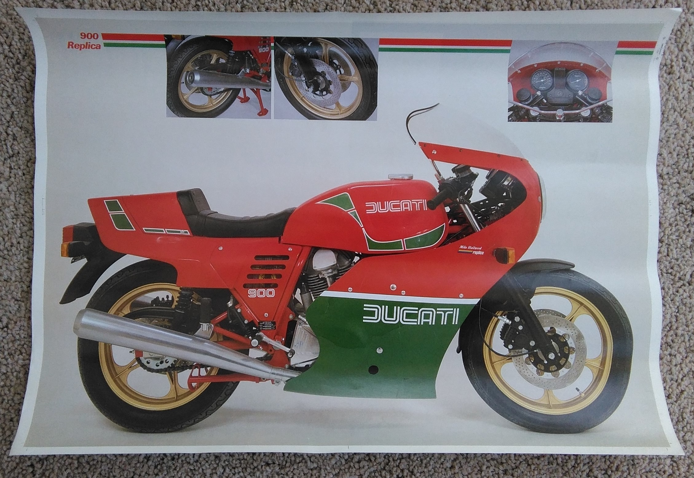 Original Ducati Showroom Poster- MHR