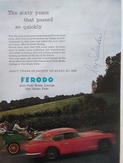 Roy Salvadori Signed 1957 Autocar Page