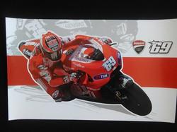 Nicky Hayden Ducati Team Poster