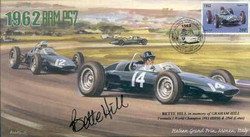 Bette Hill Signed FDC
