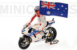 Casey Stoner 2009 (with Figure/Flag)