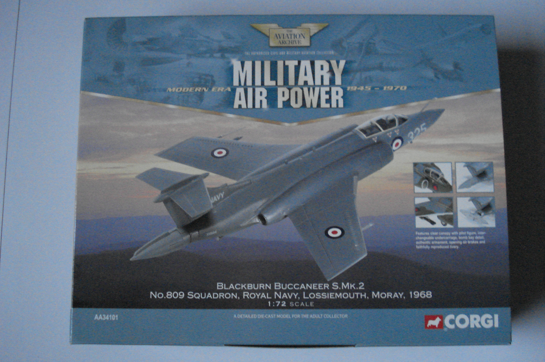 Corgi Blackburn Buccaneer 809 Squadron 1:72