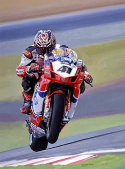 'Revvin' (Nori Haga-Ducati) Alan Jones