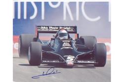 Mario Andretti Laguna Seca Signed