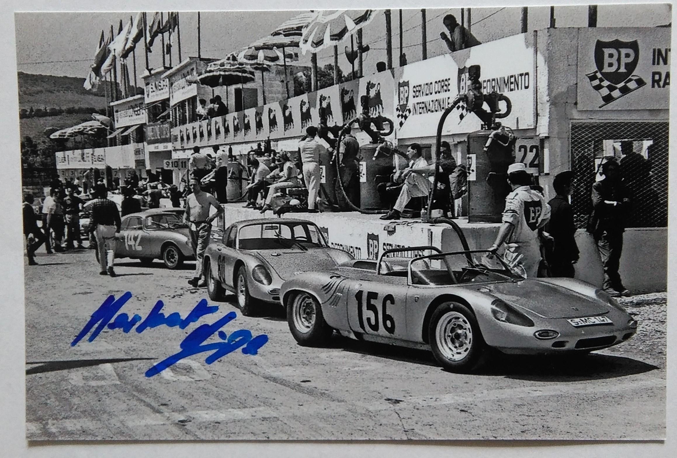 Herbert Linge Targa Florio 1963