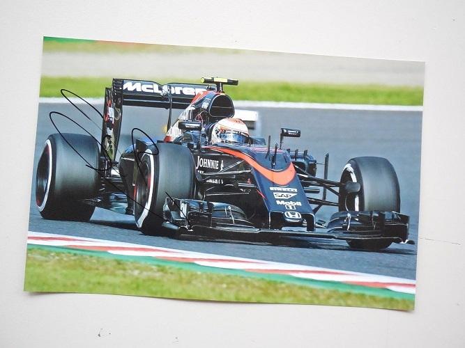 Jenson Button Signed McLaren 1