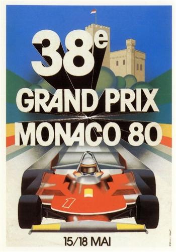Monaco Grand Prix 1980