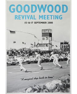 Goodwood Revival Poster 2000