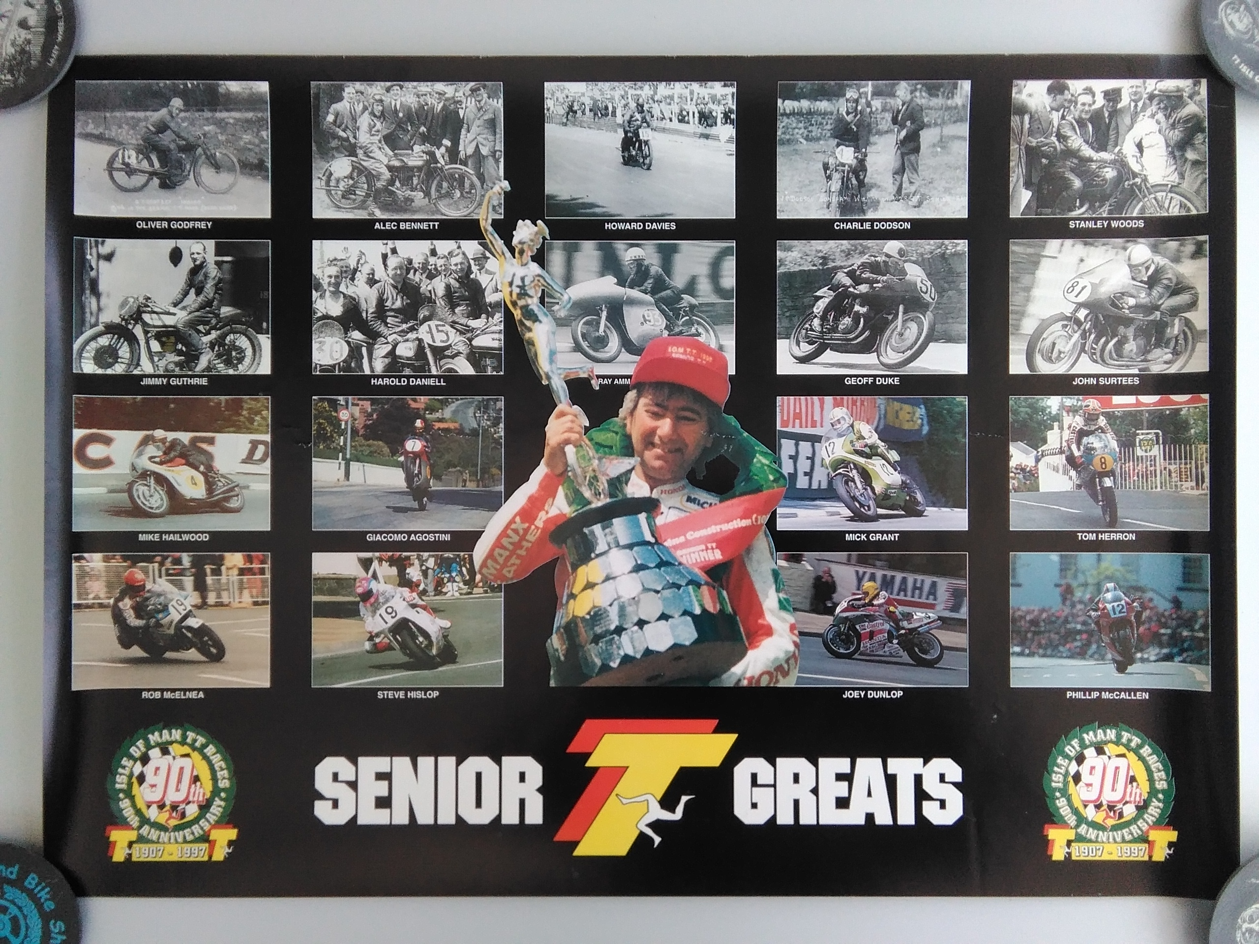 Senior TT Greats Poster