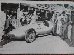 Rudolf Caracciola - Pau Test