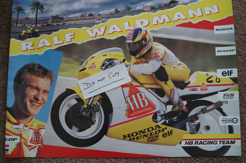 Ralf Waldman - HB Honda Poster