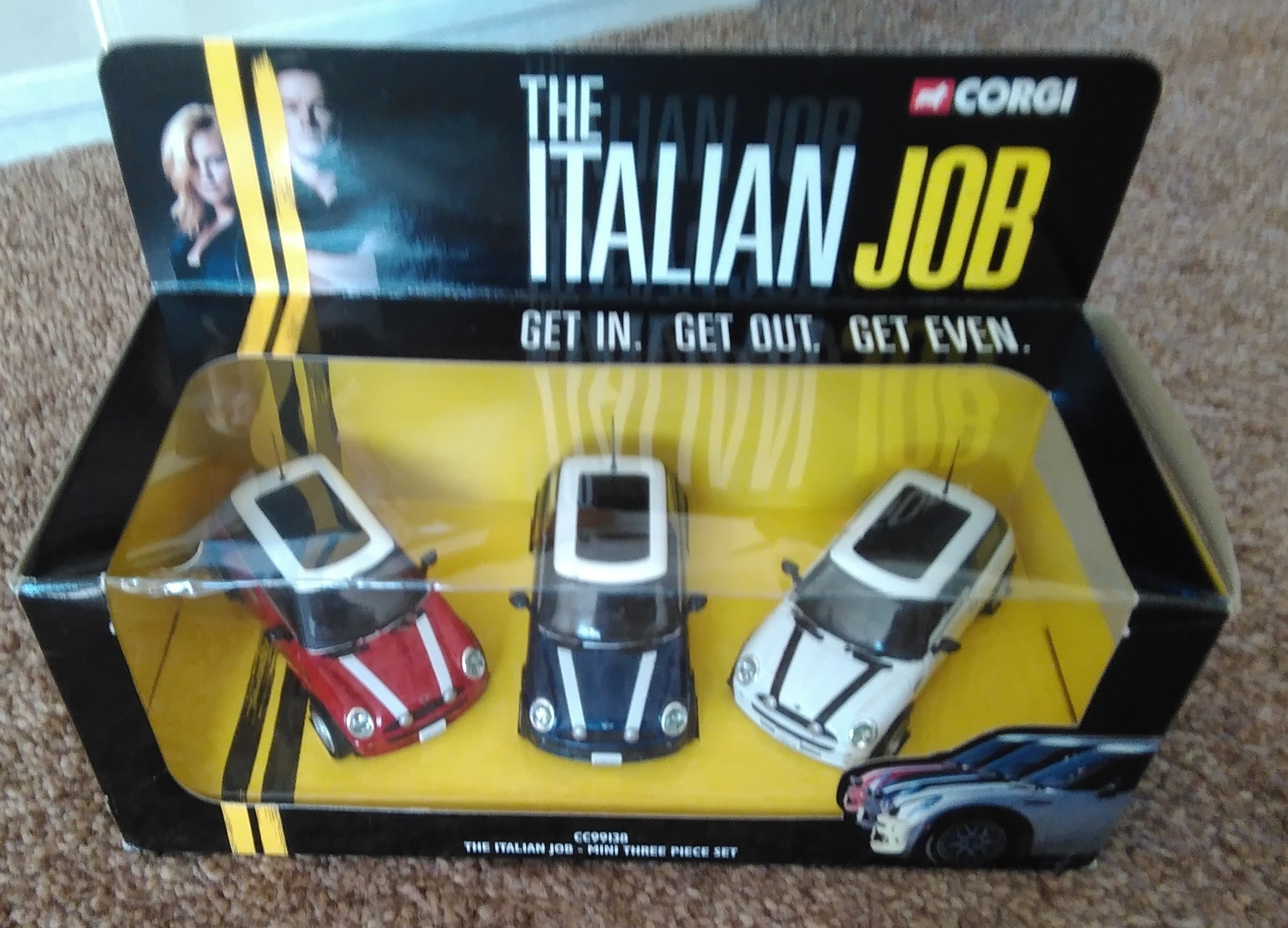 Corgi Italian Job Set 2003 1:36