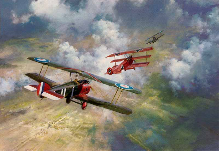 Last Combat Of The Red Baron-Wootton