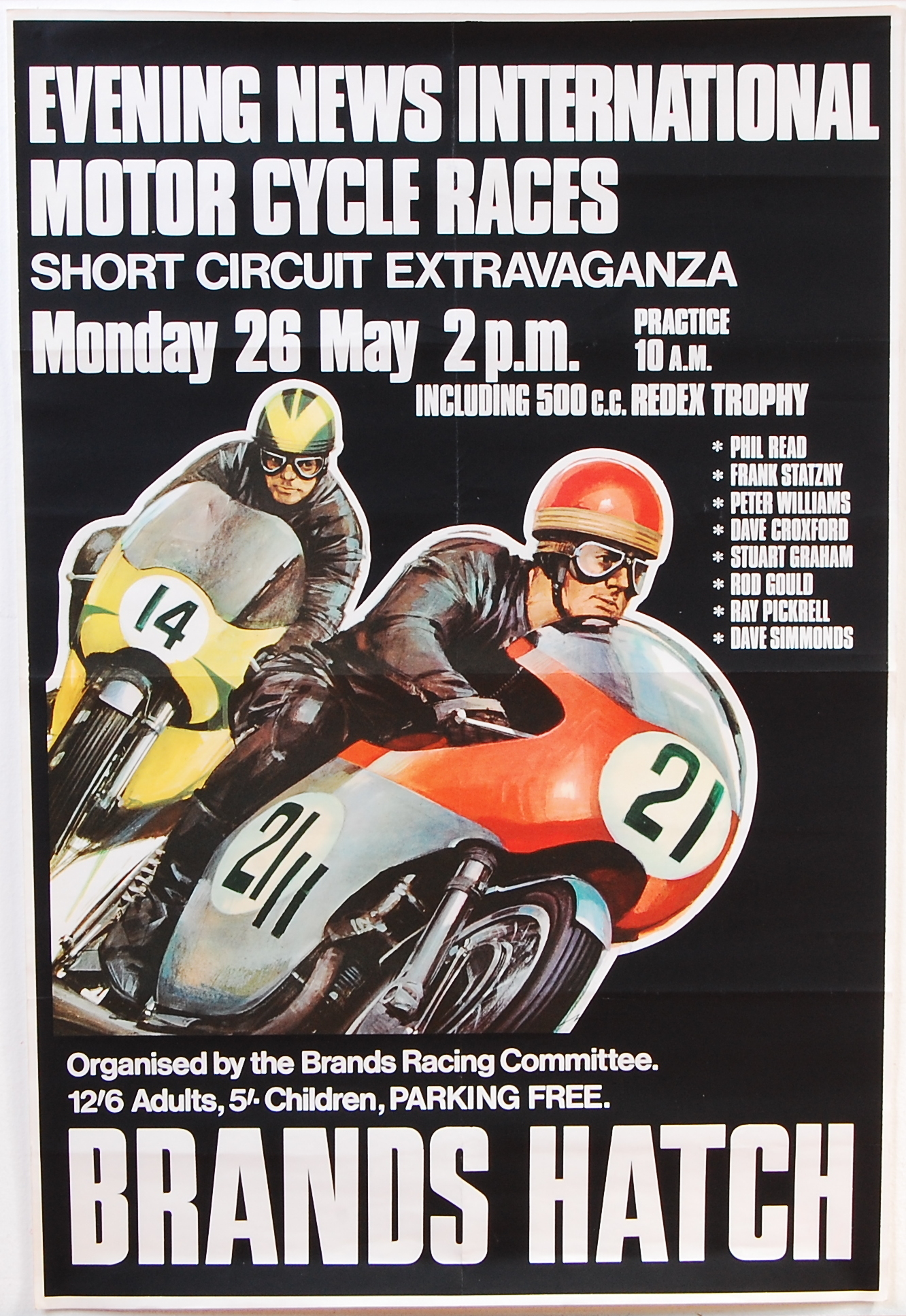Brands Hatch 1969 Poster