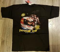 Schumacher Signed Black Tagged Shirt