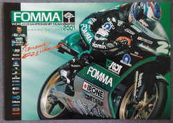 Arnaud Vincent 2001 Scot Racing Poster 2