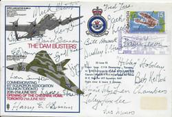 Dambusters 1972 cw 23 Original Dams Sign