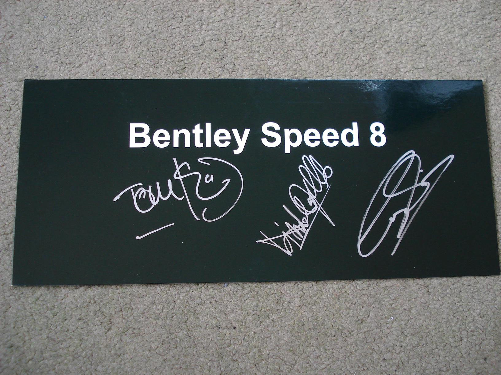 AutoArt Bentley Speed 8 1:18 80353