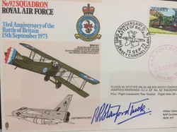 Bob Stanford Tuck Signed FDC