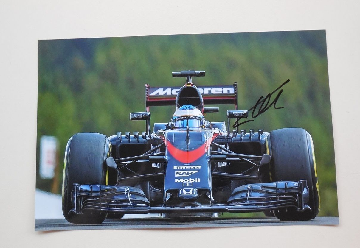 Alonso Signed McLaren