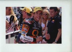 Marquez Signed Moto 2