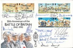 BOB 50th Anniversary IOM cw 13 Signatures